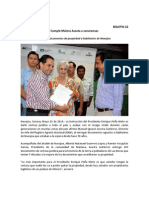 24-05-14 022 BOLETIN - Entrega documentos de propiedad a habitantes de Navojoa