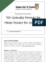 50 Grandes Formas Hacer Dinero Internet Gana Dinero Con Tu Pasion