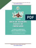 1000 Ideas de Negocios eBook Guican