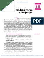 18 Modernizacao e Imigracao