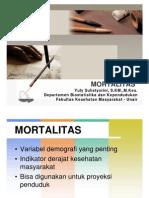 TEORI MORTALITAS 2014
