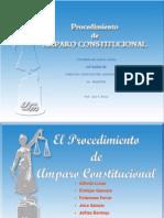 PRESENTACON Amparo Constitucional Material X Semestre[1]