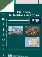 Cuaderno nº 1 Comisión de Transportes. Pirineos la Frontera Europea