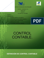5.5 Control Contable.