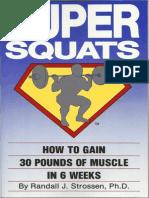 Super Squats - Randall Strossen