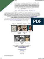 Unabomber CIA NSA FBI Conspiracy Funding Echelon