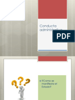Conducta Administrativa Set 2012
