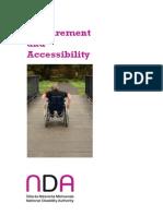 Procurement an information about procurmentd Accessibility