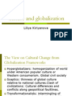 Culture and Globalization
