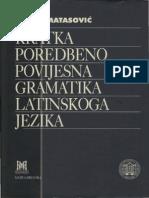 Kratka Poredbenopovijesna Gramatika Latinskoga Jezika