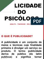 Seminário de Ética - Publicidade Do Psicólogo