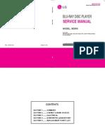 LG BD550 Service Manual