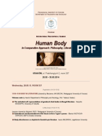 2014 human body seminar up program