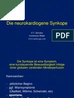Die Neurokardiogene Synkope