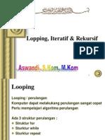 02-DA Algorithma - Looping Iteratif Rekursif (1)