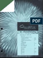 Prescolite Chandeline Dealer Pricing List C-3D 1965