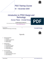 Fpso Design and Technology