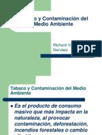Tabaco y Contaminación Del Medio Ambiente