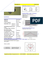 datasheet ultrasonik