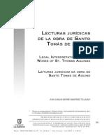 RIOFRIO, Juan (2013) Lecturas Juridicas de S Tomas
