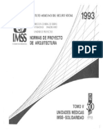 Normas de Proyecto de Arquitectura, Tomo V