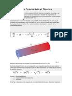 Definición de Conductividad Térmica