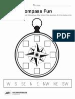 Compass Fun Worksheet