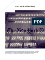 What Brands Can Learn From the NY Times Report
