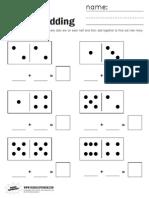 Domino Adding Worksheet