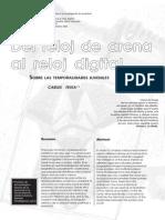 Carles Feixa - Del Reloj de Arena Al Reloj Digital