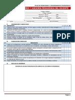 Ficha de Monitoreo y Asesoría