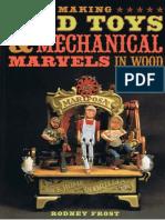 Making Toys & Mechanial in Wood