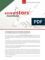 Startup Investors Manifesto 2014