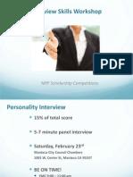 Interview Communicative Skills Workshop