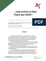 """O Mundo Onírico No Filme """"a Pele Que Habito""""1"""
