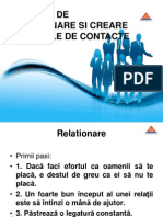 Abilitati Relationare Si Creare Retele de Contacte Ppt