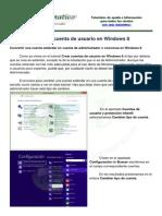 Cambiar El Tipo de Cuenta de Usuario en Windows 8