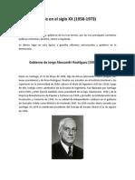 Chile en El Siglo XX (2)