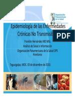 Situación epidemiológica ECNT
