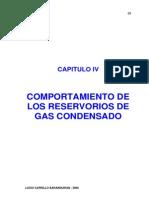 Comportamiento de Los Reservorios de Gas Condensado