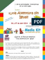 Media Kit Gran Festival Infantil