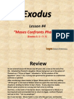 4. Moses Confronts Pharaoh