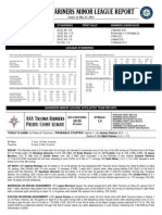 05.24.14 Mariners Minor League Report