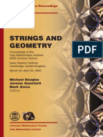 [] Strings&Geometry (PLiamputtong, IsaacNewtonInst4Math)