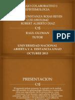 Trabajo Colaborativo 1 Epistemologia
