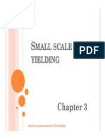 CHAPTER 3 SmallScaleYielding