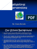 school safety project  behavioral interventions
