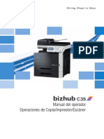 Bizhub C35 Ug Printer Copy Scanner de 3 2 1