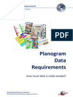 White Paper - Planogram Data Requirements