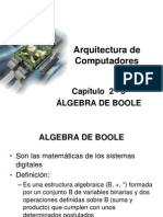 2 - 3 Algebra de Boole